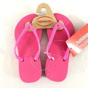 Havaianas Toddler Girls Flip Flop Sandals 11/12